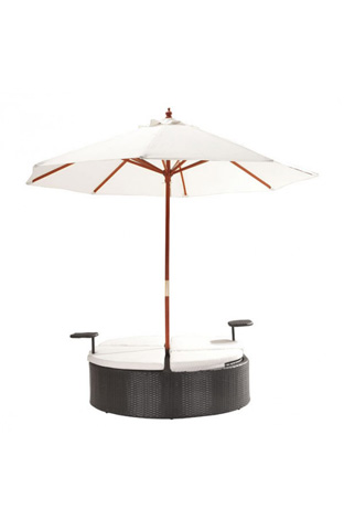 Zuo Modern Contemporary, Inc. - Hampton Double Chaise Lounge - 703635