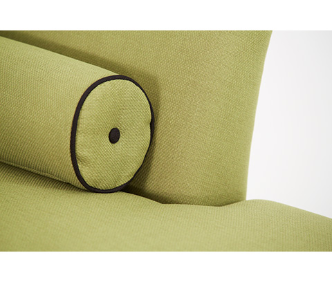 Michael Amini - Left Arm Facing Green Chaise Lounge - 19842-GREEN-88