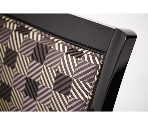 Michael Amini - Fabric Wood Chair - 06834-BKMLT-88