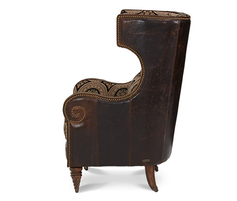 Michael Amini - Upholstered Wing Chair - 61936-MULTI-29