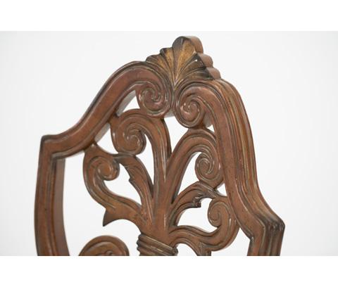 Michael Amini - Pull Up Desk Arm Chair - 72044-55