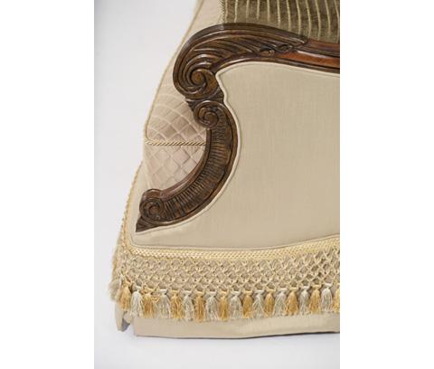 Michael Amini - Wood Trim Sofa - 75815-ANGLD-39