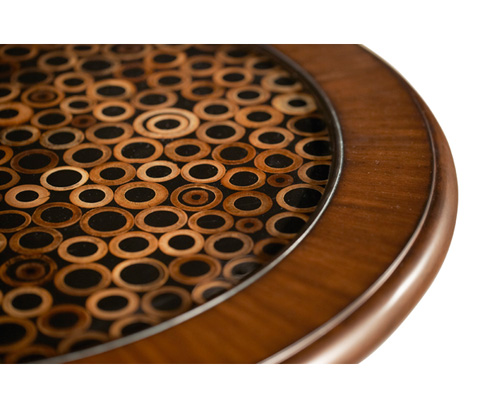 Michael Amini - Round Accent Table - ACF-ACT-SOFR-024