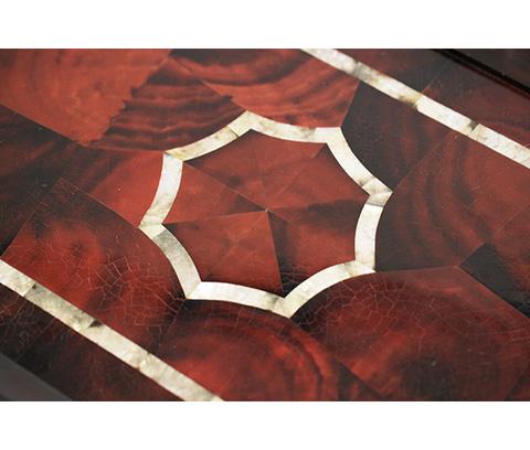 Michael Amini - Three Piece Nesting Table - ACF-NST-ARGN-3P