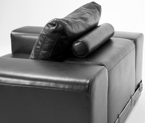 Michael Amini - Ciras Leather Chair - MB-CIRAS35-BLK-13