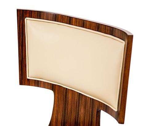 Michael Amini - Cloche Side Chair in Bourbon - 10003-32