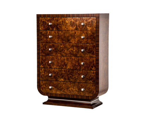 Image of Cloche Six Drawer Chest
