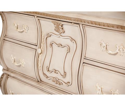 Michael Amini - Lavelle Cottage Dresser in Blanc - 9022650-04