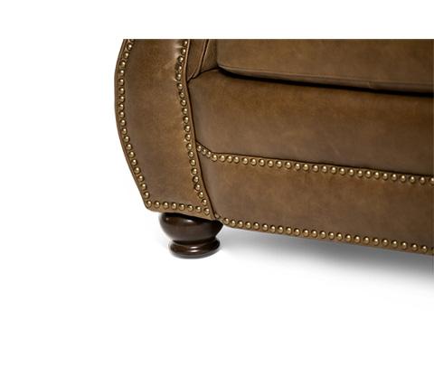 Michael Amini - Aston Leather Loveseat - FS-ASTON25-BRK-43