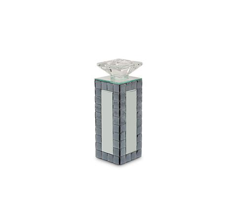 Michael Amini - Montreal Mirrored Medium Candleholder - FS-MNTRL152M-PK6