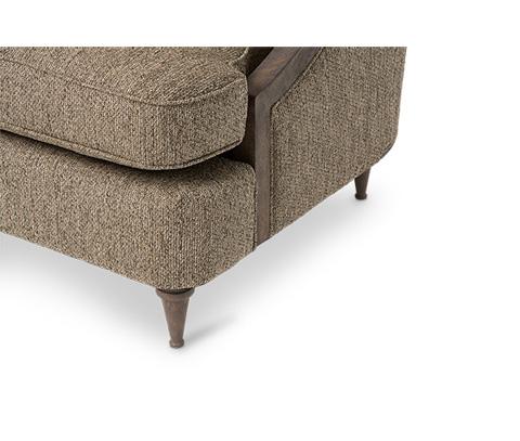 Michael Amini - Dallas Wood Trim Chair in Haze - ST-DALLS35-HZE-200