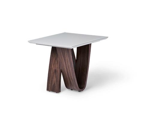 Michael Amini - Rapture End Table - TR-RPTRE202