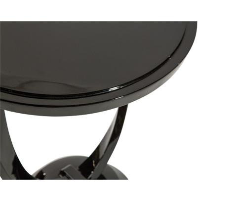 Michael Amini - Illusions Round End Table - FS-ILUSN-083