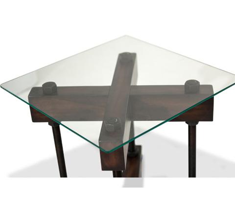 Michael Amini - Killington End Table - FS-KLGTN202