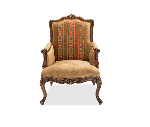 Image of Freestanding Sienna Accent Chair in Butterscotch