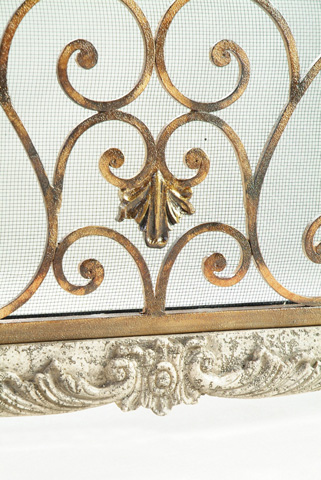 Ambella Home Collection - Heartstone Fireplace Screen - 05135-460-001