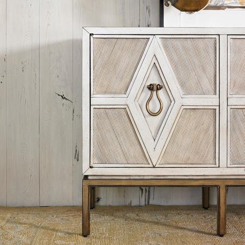 Ambella Home Collection - Diamond Multi-Use Cabinet - 06806-820-001