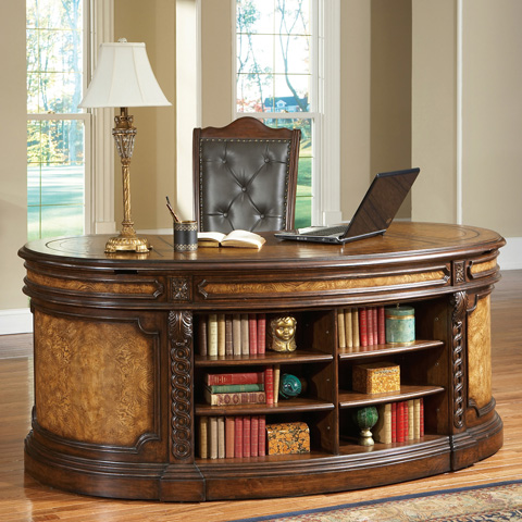 Ambella Home Collection - Rawling Executive Desk - 08947-320-076