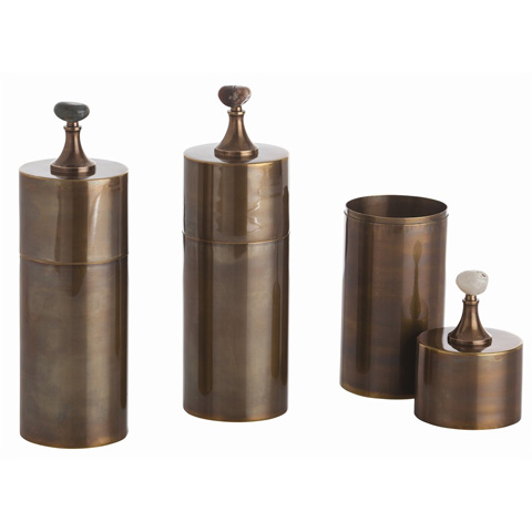 Arteriors Imports Trading Co. - Set of Belfort Containers - 4301