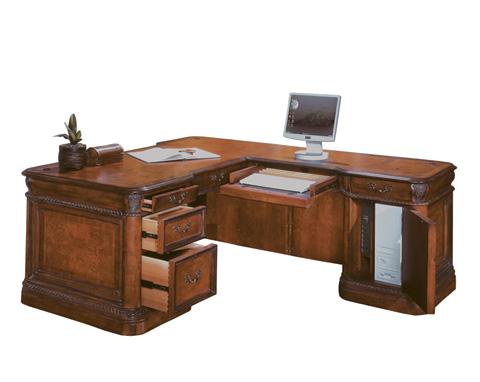 Aspenhome - Computer Desk and Return - I74-DESK