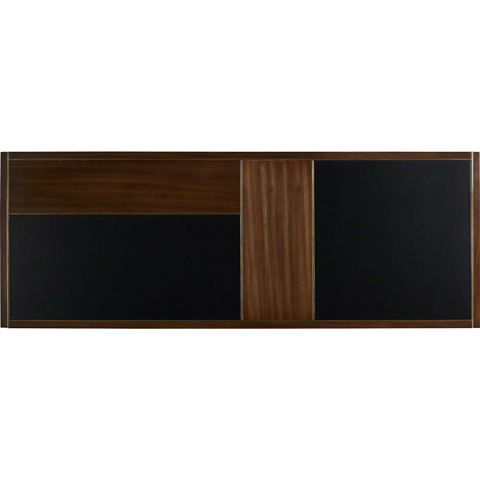 Baker Furniture - Gerrit Cocktail Table with Leather Top - 2055
