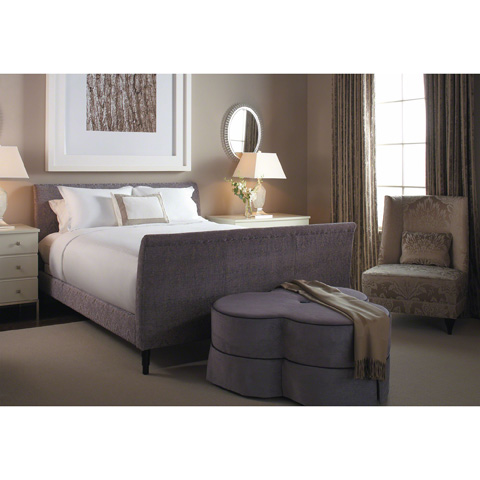 Baker Furniture - Verdi Armless Lounge Chair - 3769