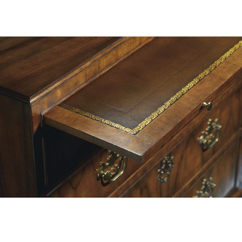 Baker Furniture - Queen Anne Five Drawer Chest - 5374