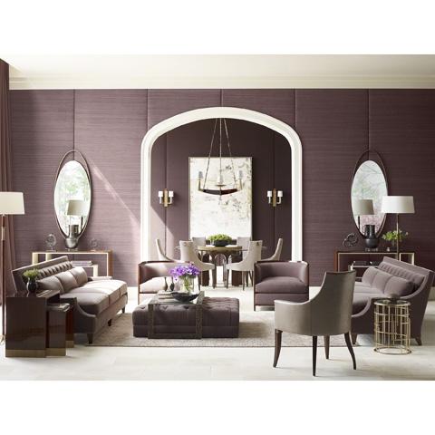 Baker Furniture - LeLoop Oval Mirror - 8614