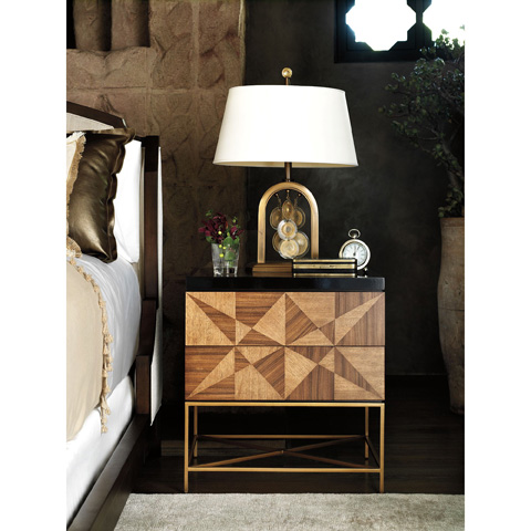 Baker Furniture - Milpa Bedside Chest - 9105