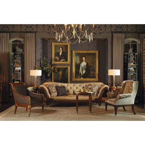 Baker Furniture - Russian Regency Occasional Chair - 6534C
