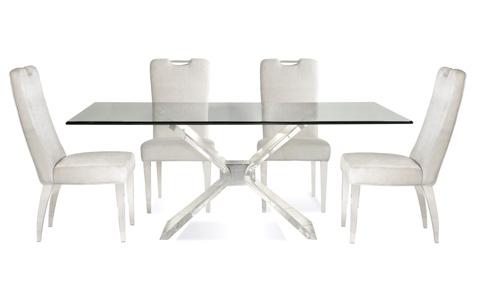 Bassett Mirror Company - Silven Rectangular Dining Table - 2999-600B-T
