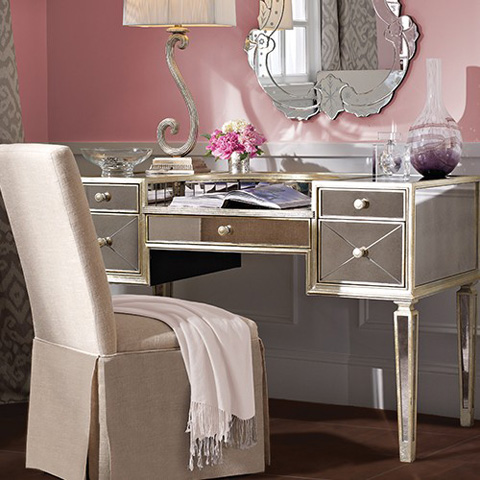 Bassett Mirror Company - Borghese Lady's Writing Desk - 8311-579