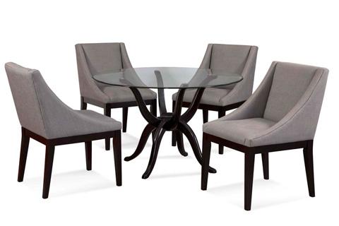 Bassett Mirror Company - Corbett Parson Side Chair - DPCH52-746