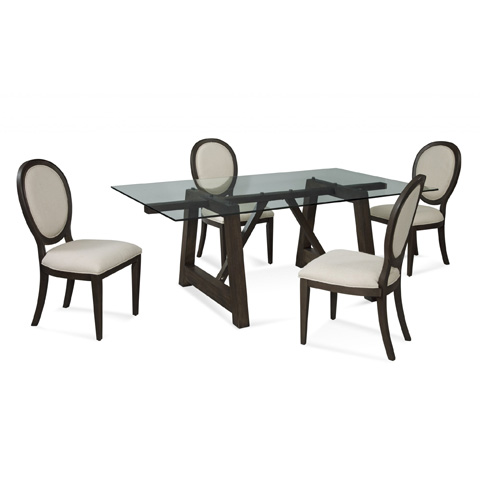 Bassett Mirror Company - Ellsworth Dining Table - 2891-600-723