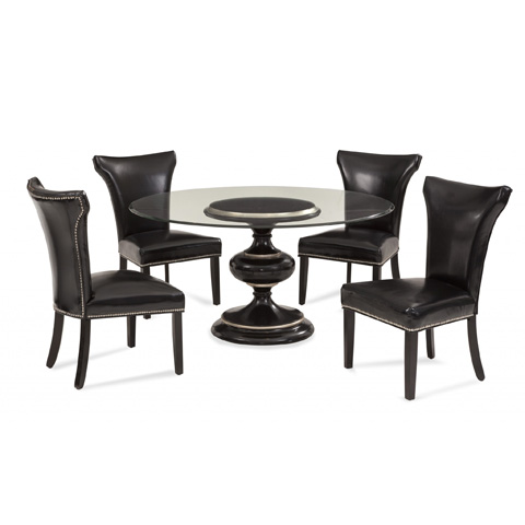 Bassett Mirror Company - Covington Round Dining Table - 2951-700-906