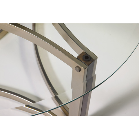 Bassett Mirror Company - Cornell Round Cocktail Table - 3017-120B-T