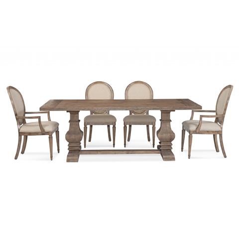Bassett Mirror Company - Kinzie Rectangular Dining Table - 3170-600