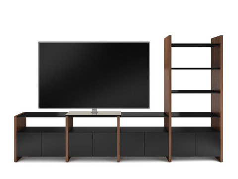 Image of Four Section Home Entertainment Center