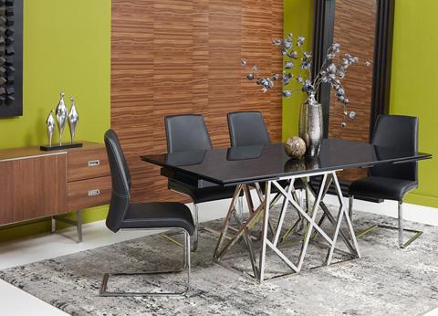 Bellini Imports - Twist Dining Table - TWIST