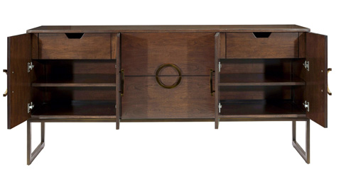 Belle Meade Signature - Jagger Mid Century Modern Sideboard - 6058