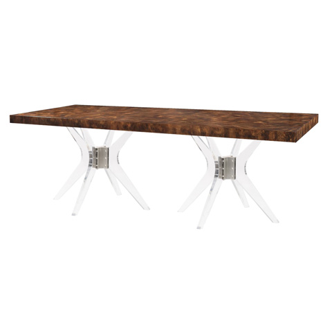 Belle Meade Signature - Gentry Mid Century Modern Dining Table - 6089