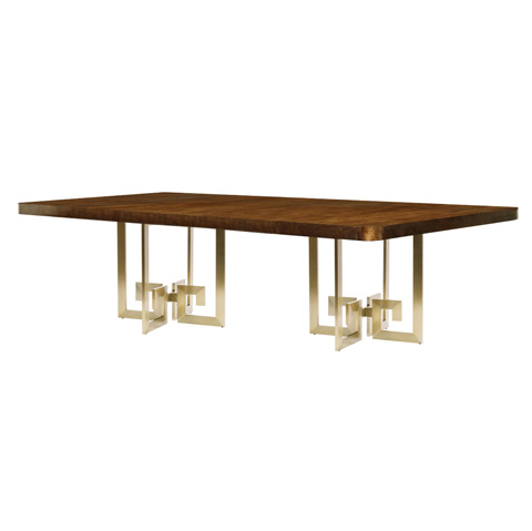Belle Meade Signature - Edie Greek Key Dining Table - 6092