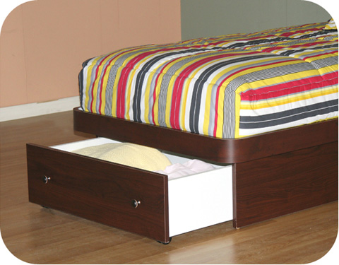 Berg Furniture - Twin Platform Bed - 22-68-18