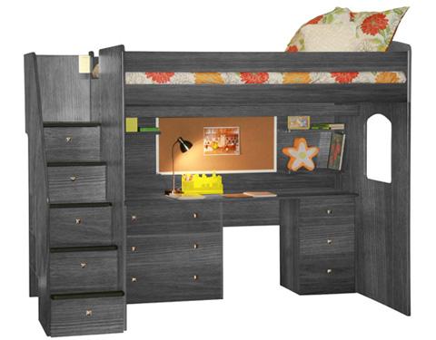 Berg Furniture - Full Dorm Loft Bed - 23-905-28