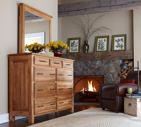 Borkholder Furniture - Burwick Plain Mirror - 14-2001XXX