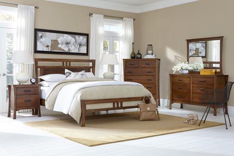 Borkholder Furniture - Lansing Queen Panel Bed - 43-1501QXX