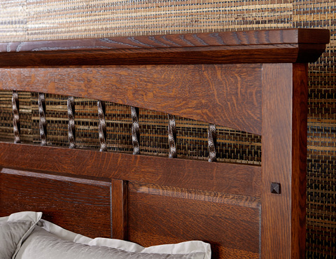 Borkholder Furniture - Arroyo Seco Panel Bed in King - 37-1501KXX