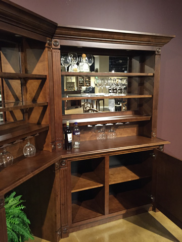 California House - Deluxe Napa Corner Bar Suite - B5084D-NAP-COR/FBC