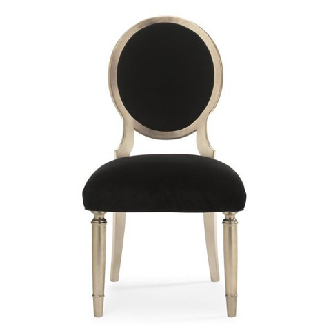 Caracole - Chit-Chat Dining Side Chair - TRA-SIDCHA-006