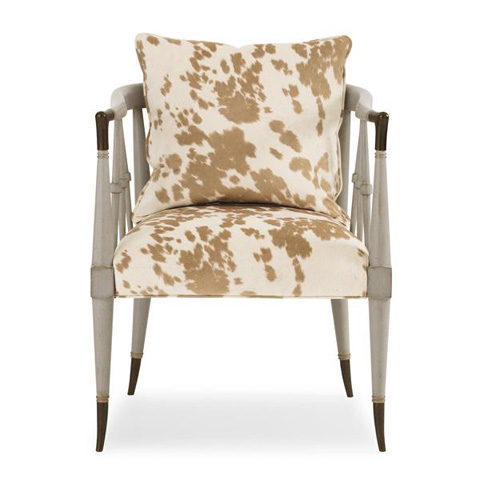 Caracole - Hide Nor Hair Chair - UPH-CHAWOO-54A
